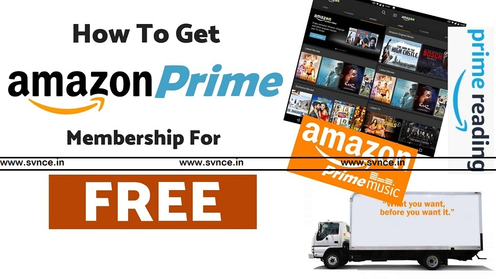 How to Get Free Amazon Prime Subscription in India